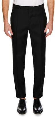 DSQUARED2 Men's Straight-Leg Formal Wool-Silk Pants