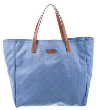22d5a1c2d Gucci Nylon Tote Bag - ShopStyle