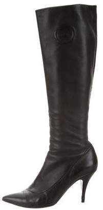 Viktor & Rolf Pointed-Toe Knee-High Boots