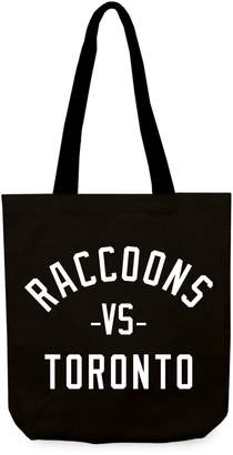 Victoria's Secret Main And Local Raccoons Toronto Canvas Tote