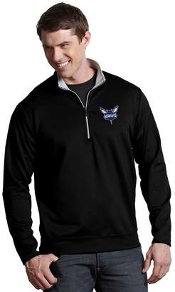 Antigua Men's Charlotte Hornets Leader Pullover