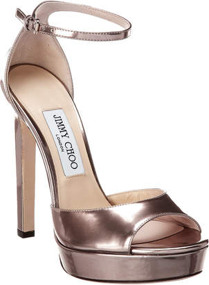 Jimmy Choo Pattie 130 Patent Sandal