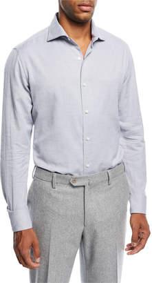 Loro Piana Alain Cashmere-Blend Shirt