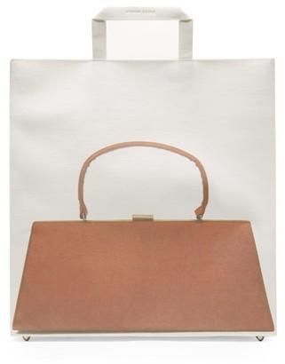 Stefan Cooke - Handbag Print Paper Tote Bag - Womens - White Multi