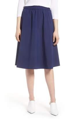 Halogen A-Line Midi Skirt (Regular & Petite)