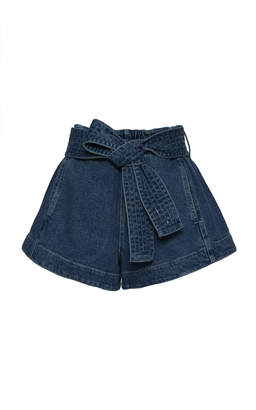 Apiece Apart Denim Runner Short