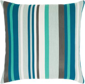 Elaine Smith Lagoon Stripe Indoor/Outdoor Accent Pillow