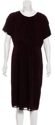 Burberry Silk Midi Dress