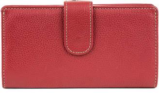 Mundi Rio Leather Frame Clutch Wallet