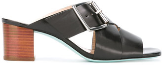 Ps By Paul Smith crisscross strap sandals $425 thestylecure.com