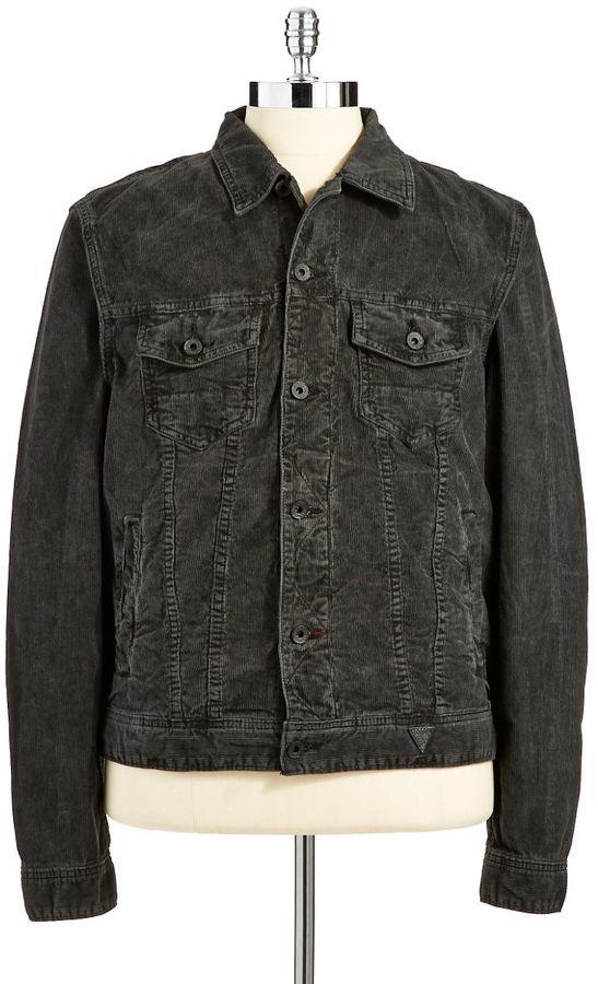 GUESS Jackson Cotton Corduroy Jacket