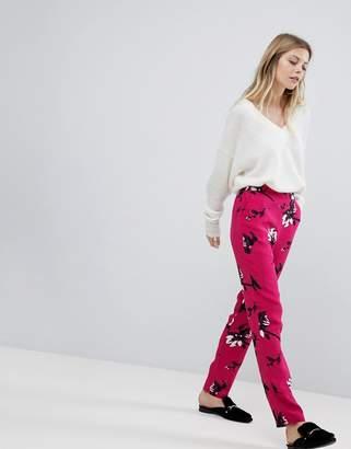 Vila Floral Printed Pants