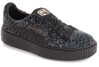 Women's Puma Elemental Platform Sneaker $99.95 thestylecure.com