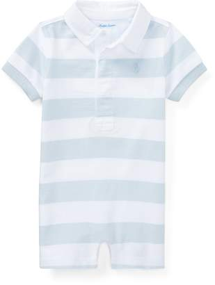 Ralph Lauren Striped Cotton Rugby Shortall