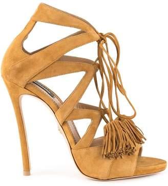 DSQUARED2 tassel tie sandals