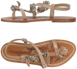 Golden Goose by K.JACQUES ST. TROPEZ Toe strap sandals