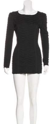 Torn By Ronny Kobo Gathered Mini Dress