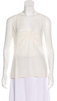 Couture St. John Silk Sleeveless Dress