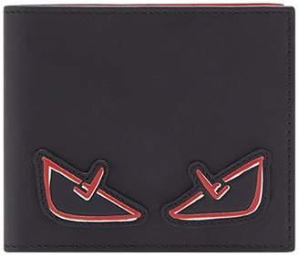 Fendi Bag Bugs appliqué wallet