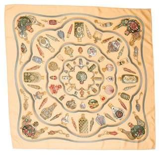Hermes Qu'Importe le Flacon Silk Scarf