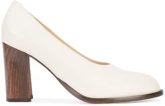 Co block heel pumps