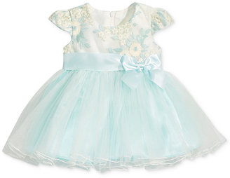 Bonnie Baby Embroidered Ballerina Dress, Baby Girls (0-24 months) $70 thestylecure.com
