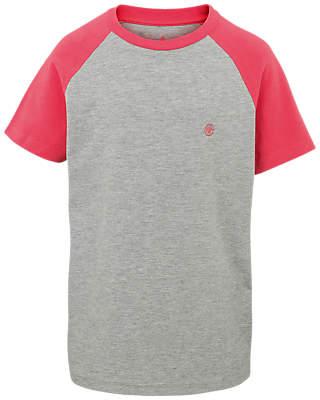 Fat Face Boys' Raglan Sleeve T-Shirt, Grey
