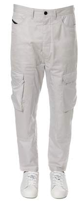 Diesel Black Gold Ice Cotton Cargo Trousers