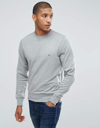 Tommy Hilfiger crew neck sweatshirt in grey