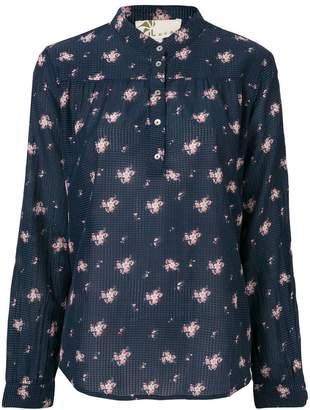 Local floral print blouse