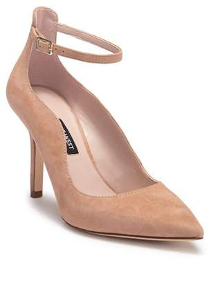 Nine West Marquisa Pointed Toe Ankle Strap Pump