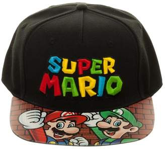 11bfffef627 Bioworld Men s Licensed Super Mario Bros. - Snapback Hat O S