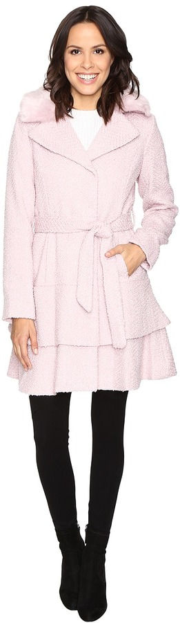 Betsey JohnsonBetsey Johnson Belted Wool Coat