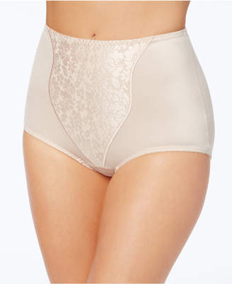 Bali Women's Light Tummy-Control Lace Support Briefs 2 Pack X372