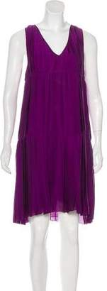 Derek Lam Silk Pleated Dress