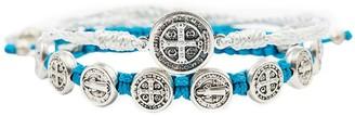 My Saint My Hero Blessing Benedictine Medal Bracelet Set