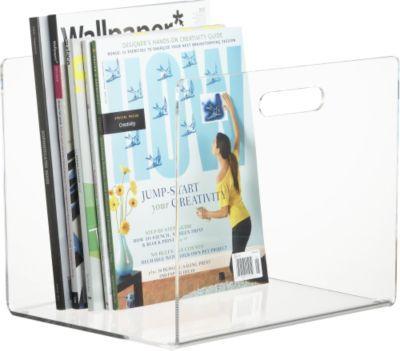 Format floor magazine holder