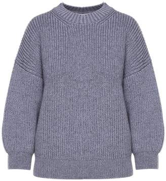 3.1 Phillip Lim Puff-sleeve Wool And Mohair-blend Sweater