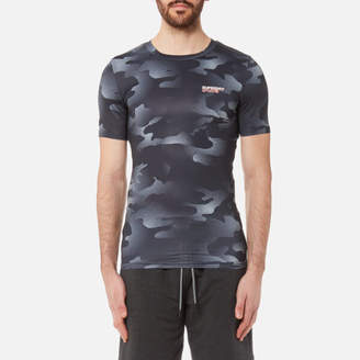Superdry Sport Men's Athletic Dissolve Camo T-Shirt