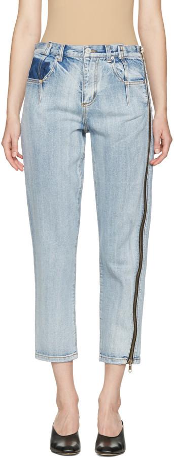 3.1 Phillip Lim3.1 Phillip Lim Indigo Zipper Jeans