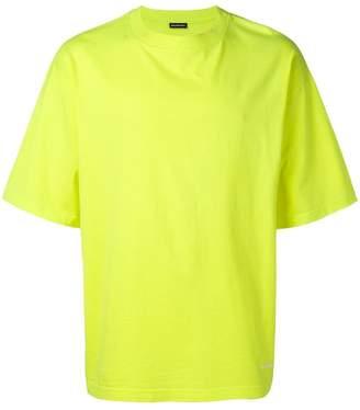 Balenciaga logo embroidered T-shirt