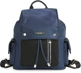 Calvin Klein Nylon and Mesh Utility Backpack