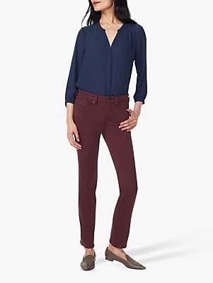 NYDJ Sheri Slim Leg Jeans, Grenache