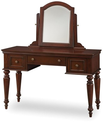 Lafayette Home Styles Vanity Table With Mirror