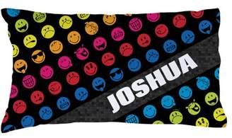 Smiley World Rainbow Face Pillowcase