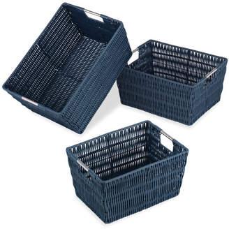 Whitmor Whitmor, Inc Rattique 3 Piece Basket Set