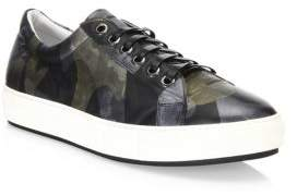 Madison Supply Leather Camouflage Sneakers
