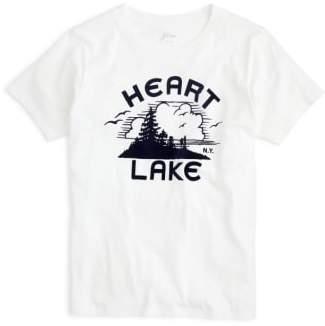 J.Crew Heart Lake Tee