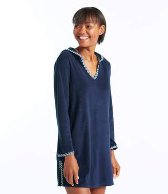 Terry Caftan Hooded Cover-Up