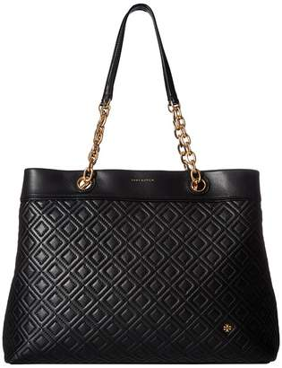 Tory Burch Fleming Triple-Compartment Tote Handbags
